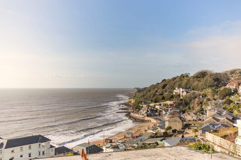 Beach View overlooking Ventnor bay