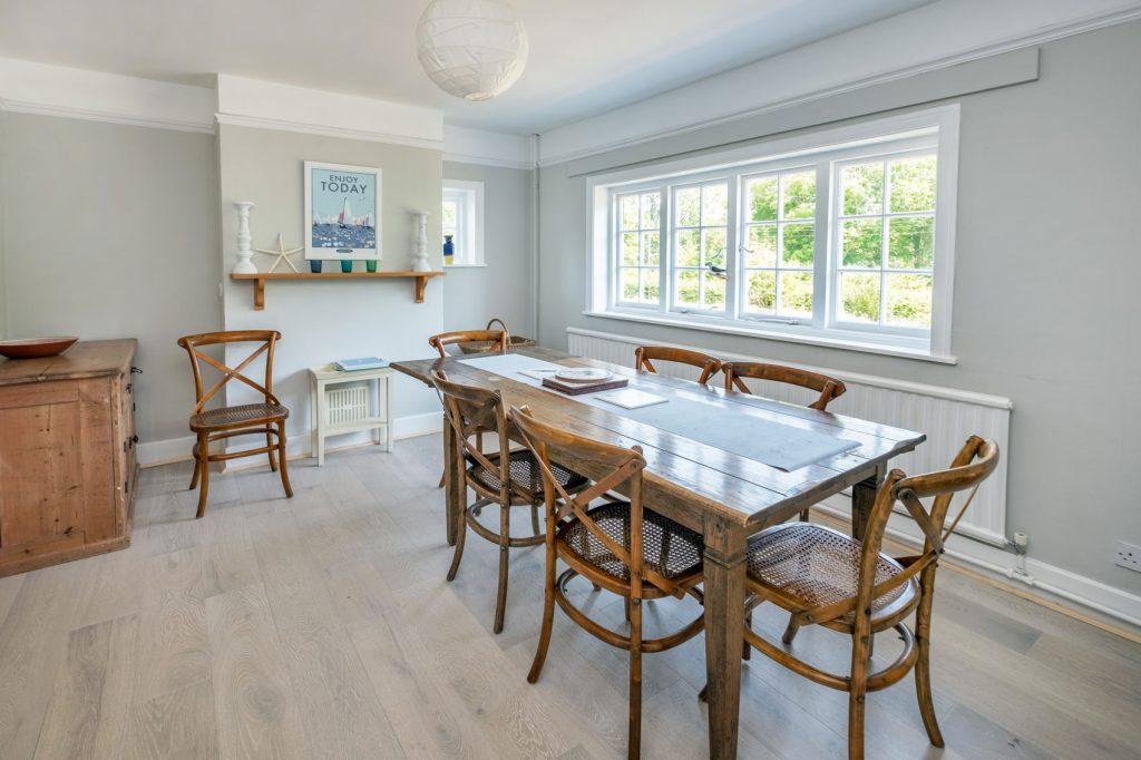 Shalfleet Farmhouse Dining Area 1
