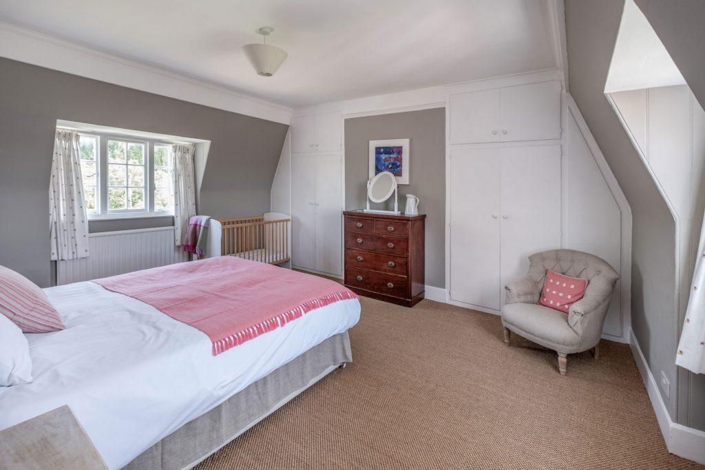 Shalfleet Farmhouse Master Bedroom 1
