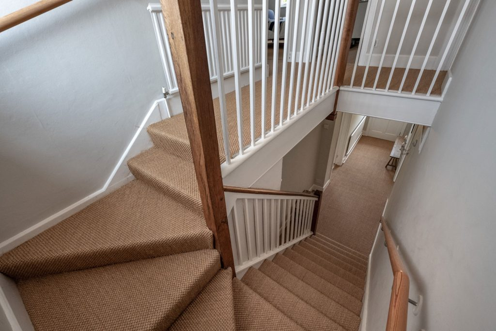 Shalfleet Farmhouse Stairs view