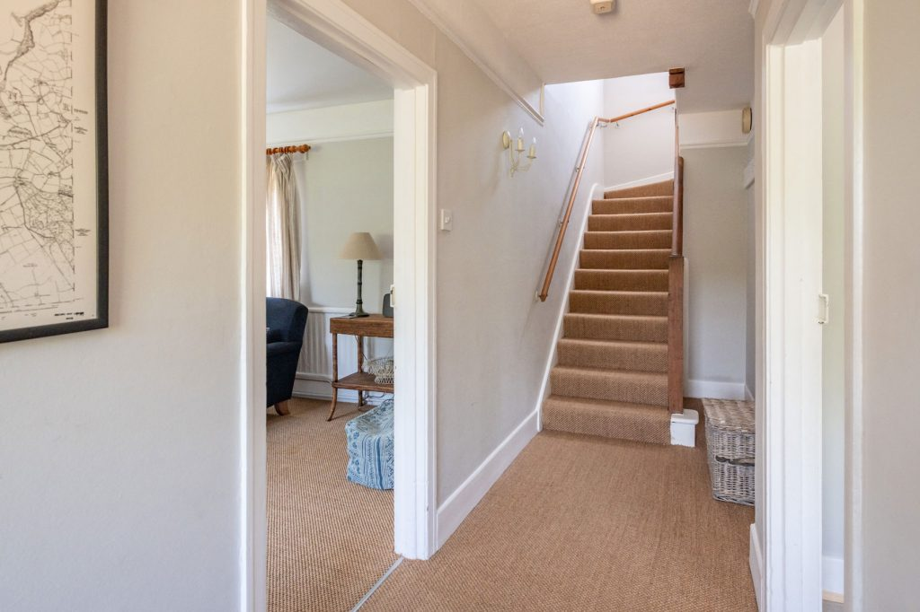 Shalfleet Farmhouse Hallway and Stairs