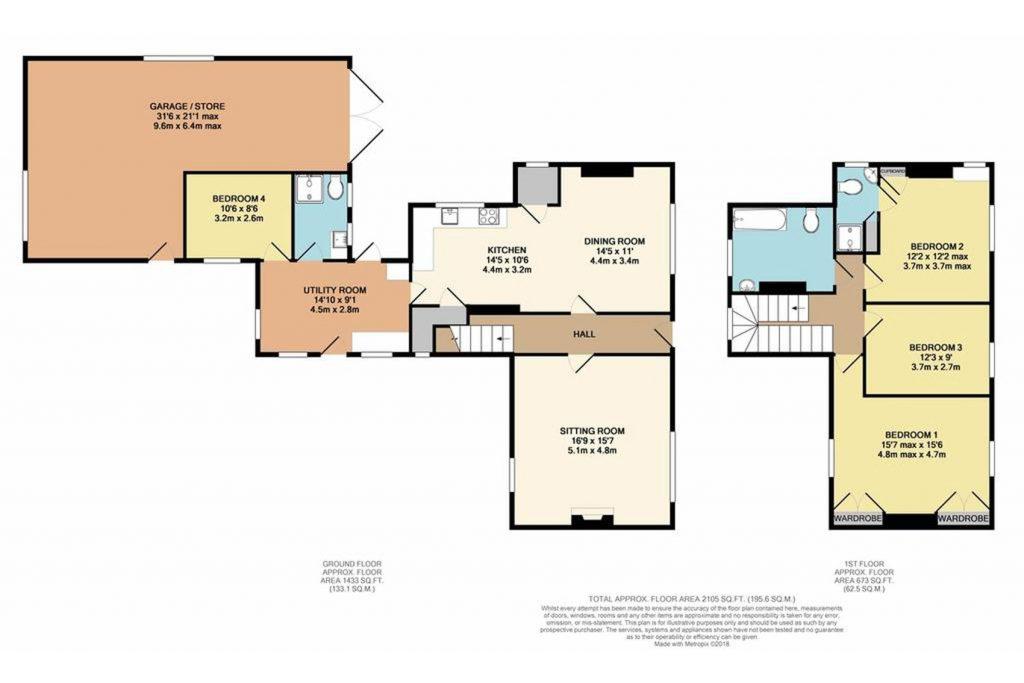 Shalfleet Farmhouse Floorplan