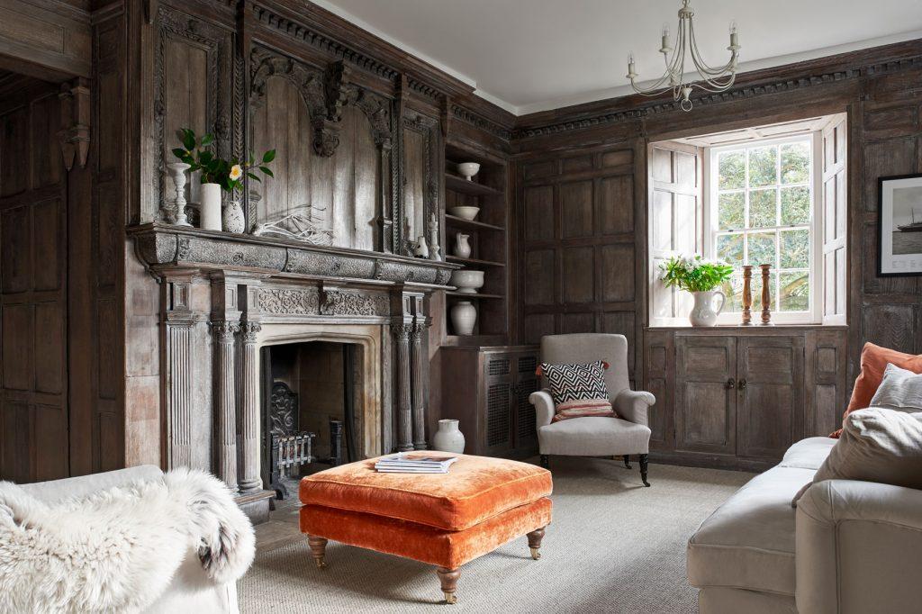 Shalfleet Manor Drawing Room 1