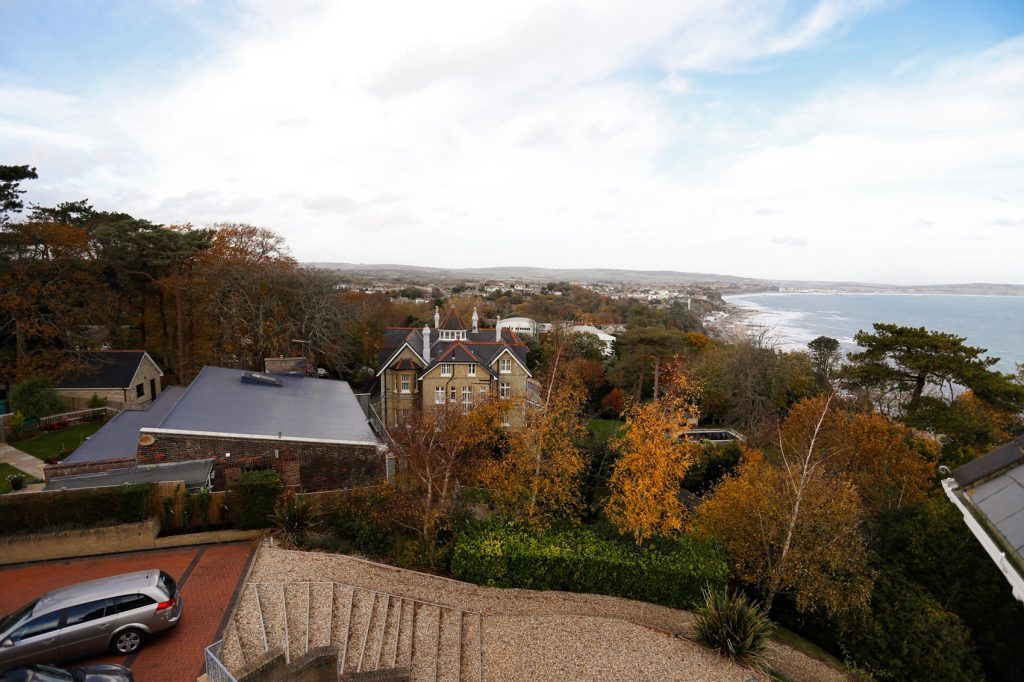 View over Shanklin, Lake and Sandown