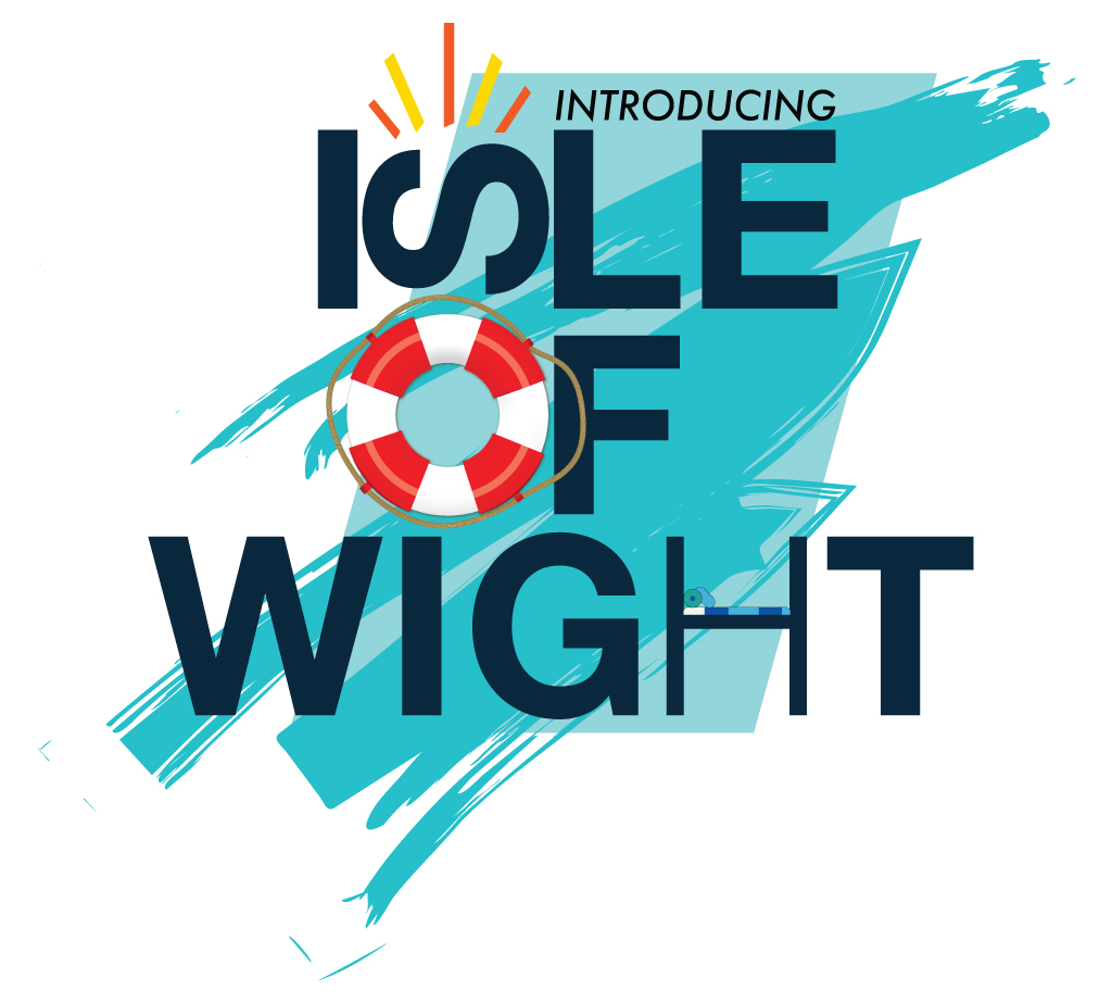 Logo to introduce the Isle of Wight page of the website